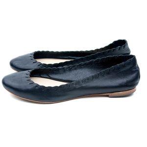 Loeffler Randall Karlotta Leather Ballet Flats